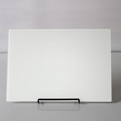 磁性钢化玻璃小白板写字板家用办公记事板迷你小黑板挂式教学儿童白板墙贴可擦移动支架式立式白班备忘录板