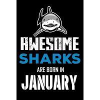 【预订】Awesome Sharks Are Born in January: Shark Notebook, Draw