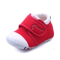 儿童宝宝春秋季学步鞋子0-1-3岁宝宝软底鞋儿童鞋机能单鞋