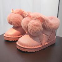 【3折价:79.9元】回力童鞋旗舰店女童雪地靴儿童棉靴2019冬季新款鞋子女孩可爱靴子