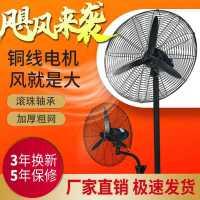 工业电风扇大功率强力落地扇工厂商用超强大风量摇头壁挂式牛角扇
