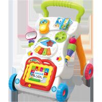 预防O型腿儿童手推车送水箱多功能婴儿学步车0-1岁婴儿玩具 无级调速 带配重 学步车