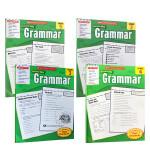 顺丰发货 Scholastic Success With Grammar, Grade 1-5本套装 语法书 儿童英文