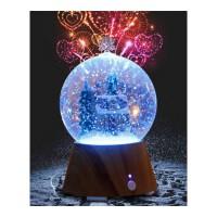 圣诞节礼物 走心的 浪漫发光水晶球树屋蓝牙音响台灯树屋小夜灯情侣表白女友闺蜜朋友女生抖音同款 水晶球树屋(蓝牙款)