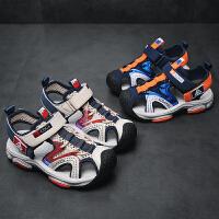 2019夏季新款童鞋小孩软底鞋男孩沙滩鞋儿童中大童男童凉鞋