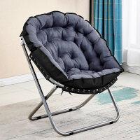 【新品热卖】创意懒人沙发椅单人榻榻米简约卧室客厅迷你可爱休闲折叠阳台躺椅