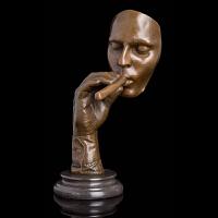 欧式家居工艺品书房客厅摆件 《抽雪茄的男人》
