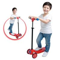 [当当自营]Auby 澳贝 运动系列 趣味滑板车  儿童三轮闪光轮滑车 464315