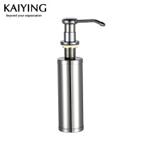 【工厂直营】凯鹰 厨房洗菜盆/水槽皂液器 不锈钢瓶+铜头KY-205