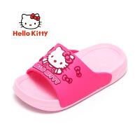 HelloKitty凯蒂猫童鞋女童四季夏凉拖鞋家居室内浴室防滑女宝宝幼儿小孩拖鞋 KE181088