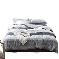 简棉四件套床上用品床单被套床笠三件套1.5 1.8m2.0双人定制