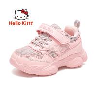 【到手价:109元】hellokitty凯蒂猫童鞋女童运动鞋加绒2019冬季新款女孩保暖二棉鞋休闲鞋K9543827