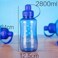 太空杯超大容量水杯旅行便携塑料水杯子水壶户外2000毫升 抖音