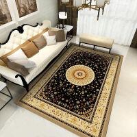欧式客厅地毯沙发茶几卧室床边家用满铺长方形美式地垫定制可水洗定制
