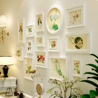 欧式实木相框墙挂墙客厅创意照片墙装饰组合餐厅田园小清新相片墙