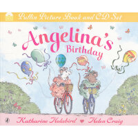 Angelina's Birthday[Audio CD] 芭蕾小精灵安吉莉娜:安吉莉娜的生日(书+CD) ISBN9