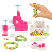 儿童手工DIY创意橡皮串珠手链3-6岁女孩玩具魔法咔嚓切切乐