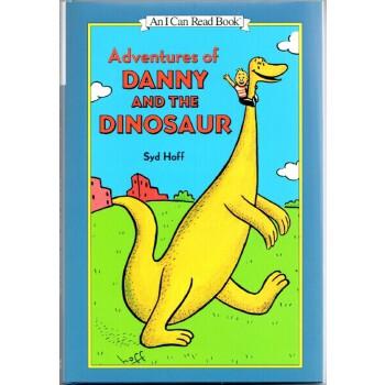 Adventures of Danny and the Dinosaur (I Can Read,Level 1, 3 Books)丹尼和恐龙英语英文原版绘本3本故事合集ISBN9780062119414 汪培廷书单-恐龙丹尼的三本书合辑