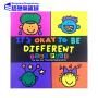 It's Okay To Be Different 不一样,没关系 英文原版 Todd Parr 托德・帕尔 淘弟有个大世界 孩子的情商培养书系列