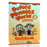 英文原版 牛津自然拼读世界2 练习册 OXFORD Phonics World Level 4 WorkBook 英语