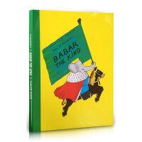顺丰发货 Babar the King 大象巴巴:国王巴巴 精装大开本 在美国被列为国民阅读书单!全书语言简练通俗,故