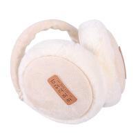 保暖耳罩女冬季耳套韩版耳包男可爱汉堡耳暖可伸缩护耳朵加厚耳捂