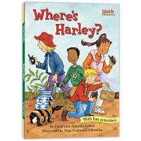 数学帮帮忙:哈利在哪里? Math Matters : Where's Harley?