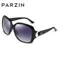 帕森偏光太阳镜 女士大框优雅防紫外线司机驾驶墨镜9271