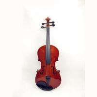 爱尔 普及小提琴 提琴 实木 初学 入门 乌木指板 (送:松香+弓子+琴盒+码子)