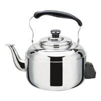 不锈钢 电热水壶 大容量 烧水壶 5L 开水鸣笛 防干烧
