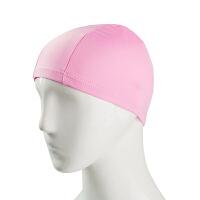 儿童高弹纯色布泳帽 舒适温泉不勒头游泳帽 男士女士儿童通用