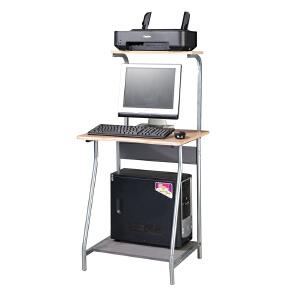 [当当自营]好事达 双层电脑台(木纹)7276 台式电脑桌 优品优质