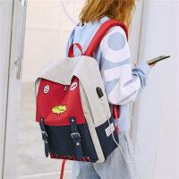 双肩包女初高中学生书包校园大容量百搭电脑包