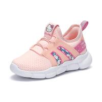 【限时抢:99元】HelloKitty童鞋女童春季新款运动鞋女孩小白鞋学生儿童休闲鞋K0513833