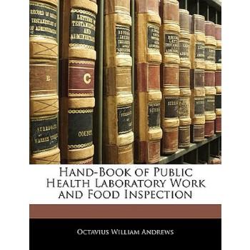 【预订】Hand-Book of Public Health Laboratory Work and Food Inspection 预订商品,需要1-3个月发货,非质量问题不接受退换货。