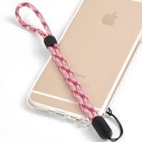 手机挂绳iphone6苹果x手机壳手腕绳手把件u盘钥匙相机短绳男女通用