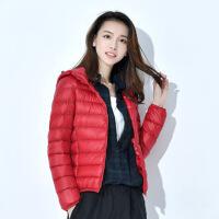 20190303002919264反季大码羽绒服女士短款学生韩版可爱修身轻薄款宽松学生外套