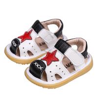 1-3岁男宝宝透气鞋子夏季女童百搭运动学步鞋婴儿凉鞋软底鞋