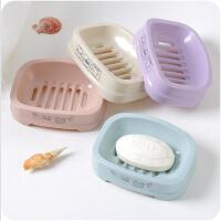 单层沥水卫生间肥皂盒创意大号皂盒架塑料简约香皂盒