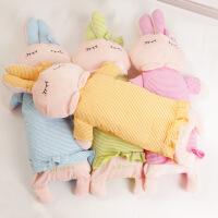 宝宝独睡伙伴全棉枕套带拉链荞麦壳芯婴儿童床品卡通立体玩具枕头