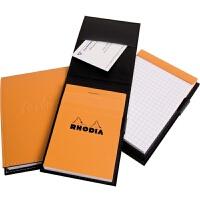 法国罗地亚Rhodia 皮套上翻笔记本 商务笔记本
