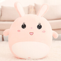 毛绒兔子玩具抱枕床上抱着睡觉的公仔可爱布娃娃玩偶生日礼物女孩 送小号(可定制名字留言或发客服)