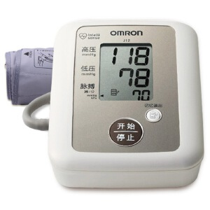 [当当自营欧姆龙(OMRON)电子血压计 家用 J12  全自动上臂式