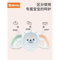 婴儿小脸盆婴儿用品婴儿脸盆便携可折叠宝宝洗脸盆
