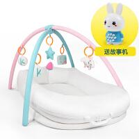 便携式婴儿床多功能新生儿床中床简易bb床垫美国仿生设计宝宝睡床zf03