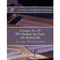 【预订】Wir Danken Dir, Gott, Wir Danken Dir: (cantata No. 29)