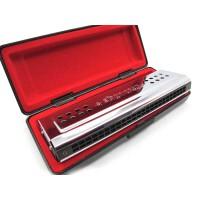 支持货到付款 奇美口琴 24孔口琴 双面双调C调 G调 演奏口琴 双面口琴 可变换调式 QM-2501