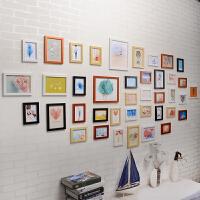 相框挂墙客厅创意组合套装摆台婚纱照片饰七寸像架子连体画简约 其他适合1.5--5米墙面尺寸