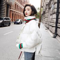 冬装女装2018新款潮韩版时尚短款面包服冬季外套加厚棉衣