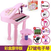 儿童电子琴带麦克风女孩玩具早教3-6岁音乐小孩宝宝音乐钢琴礼物